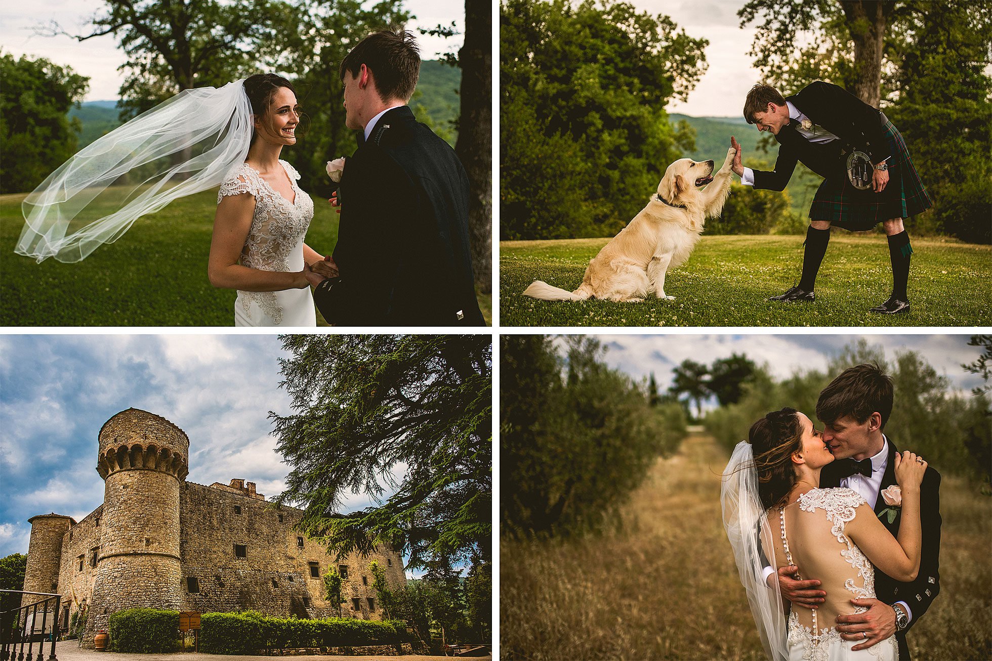 wedding castello di meleto