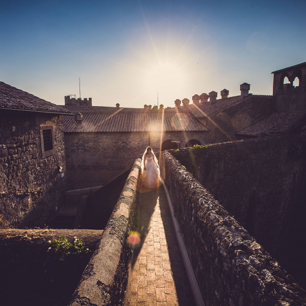 Wedding in Castle of Bracciano