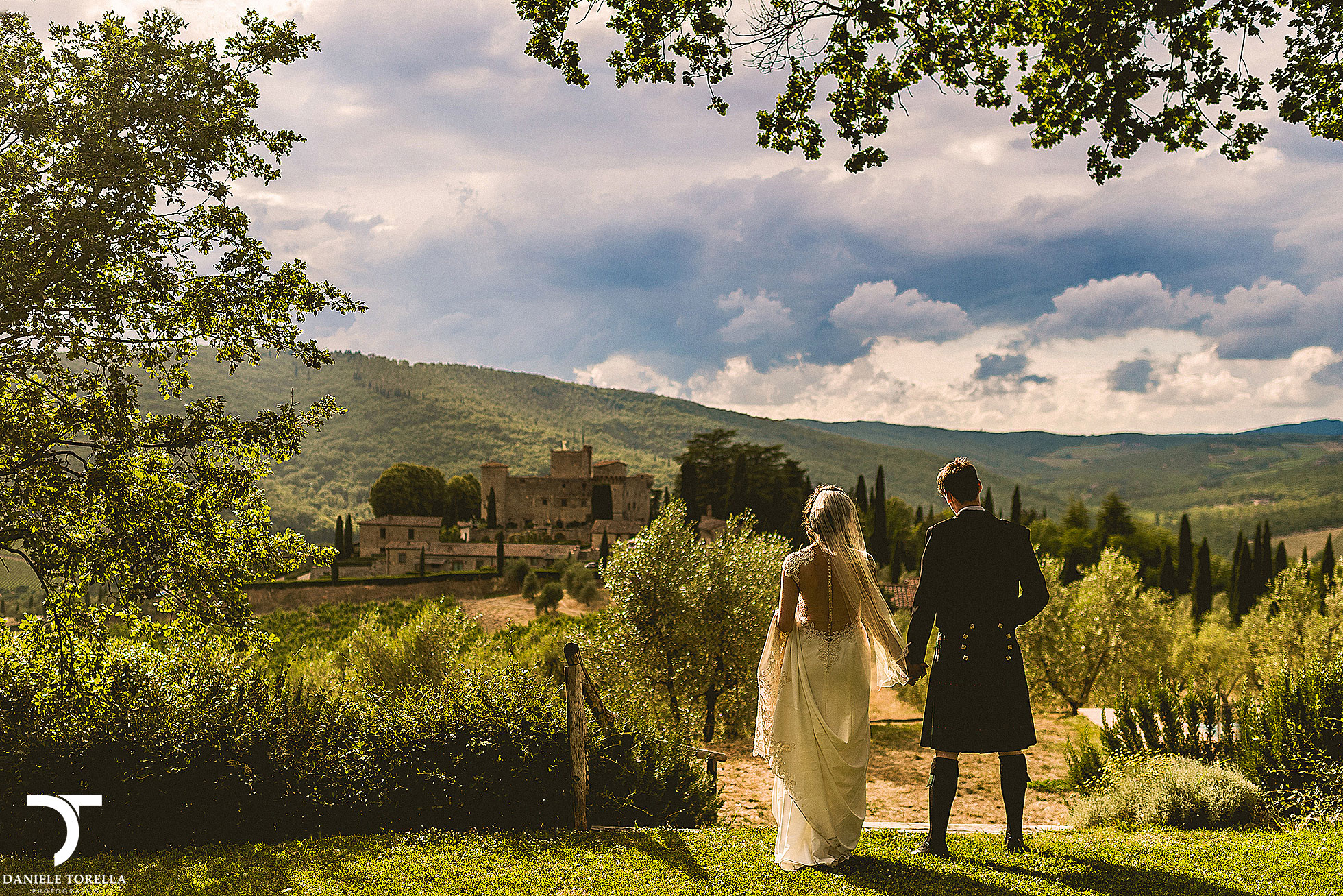 Wedding Castello di Meleto Tuscany Photographer Daniele Torella