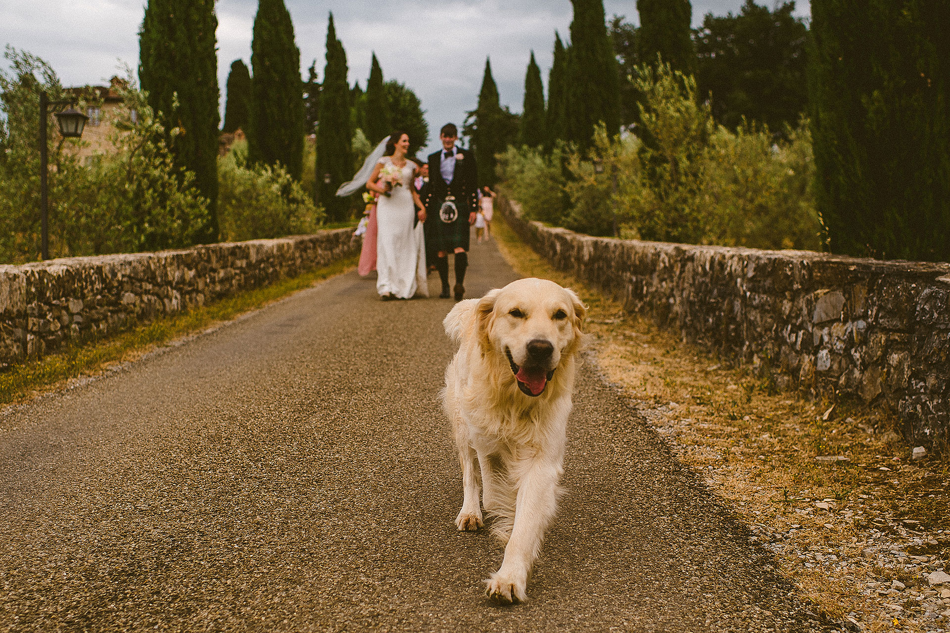 wedding castello meleto toscana
