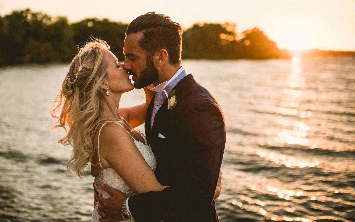 Matrimonio inglese sul mare