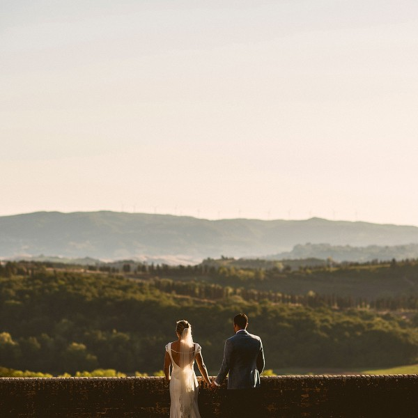 Intimate Welsh Wedding in Tuscany